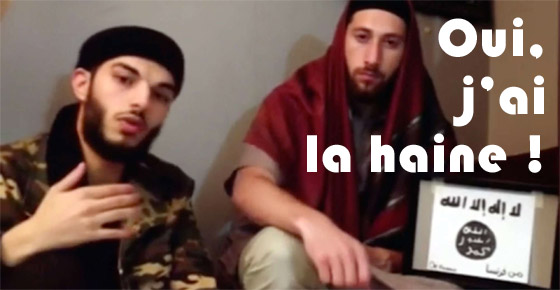 Adel Kermiche et Abdel-Malik Petitjean, assassins du père Hamel