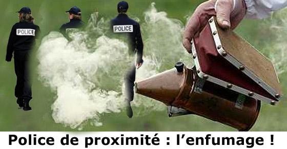 Police de proximité, l'enfumage