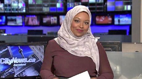 La première présentatrice TV voilée suscite de vives réactions au Canada
