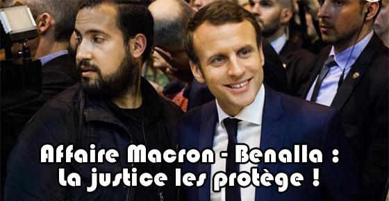 Affaire Macron Benalla La Justice Les Prot 232 Ge T Elle
