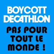 Le boycott de Decathlon n'est pas respecté partout !