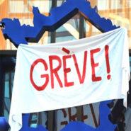 Grèves : le triste record de la France
