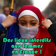 Des lieux interdits aux femmes … en France !
