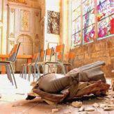 Les églises sont profanées, mais tout le monde s'en fout !