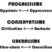 Soyons fiers d'être conservateurs !