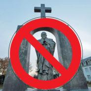 Une croix abattue … Elle gênait les migrants !
