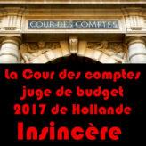 La Cour des comptes achève Hollande et sa bande de bras cassés